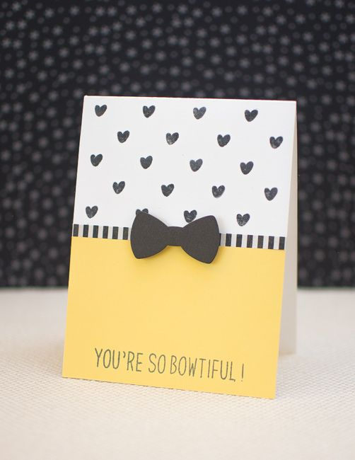 Bow Card from Mayholic in Crafts