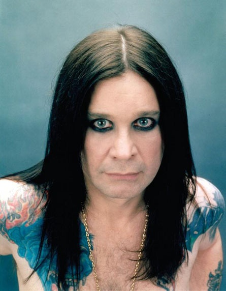 Ozzy Osbourne    I grew up to the tunes of this crazy man. I adore him !
