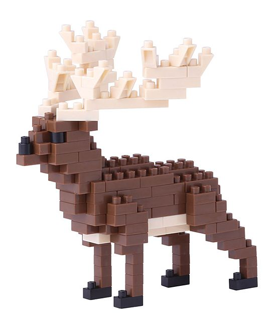 Irish Elk Nanoblock Set