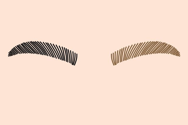 how to make lace eyebrows