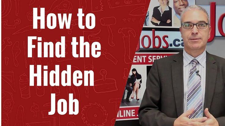 How to Find the Hidden Jobs