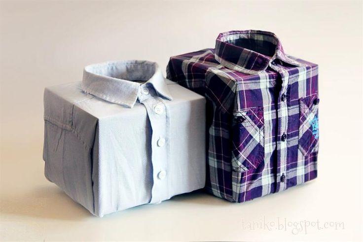 Упаковка мужская рубашка