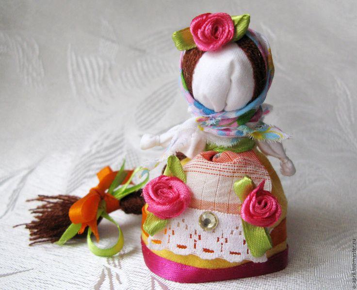 """Купить Кукла мотанка """"Долюшка"""" на счастье - комбинированный, мотанка ручной работы, на счастье, удача, подарок"""