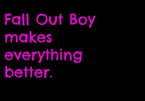 Fall Out Boy <3