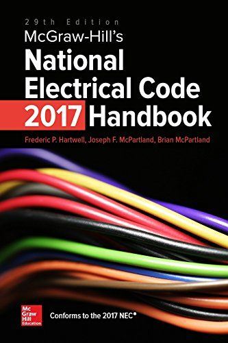 McGraw-Hill's National Electrical Code (NEC) 2017 Handbook 29th Edition