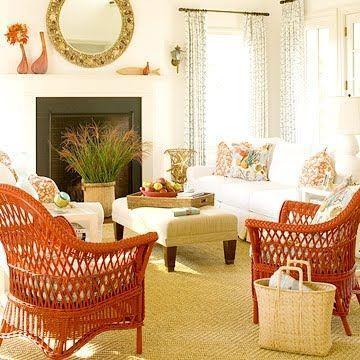Outdoor & Indoor Wicker Furniture for Coastal Style Living