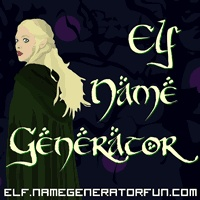 About The Sindarin Elf Name Generator  http://elf.namegeneratorfun.com/