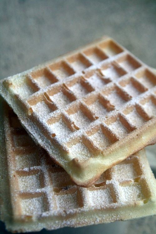 Gaufres croustillantes sans beurre