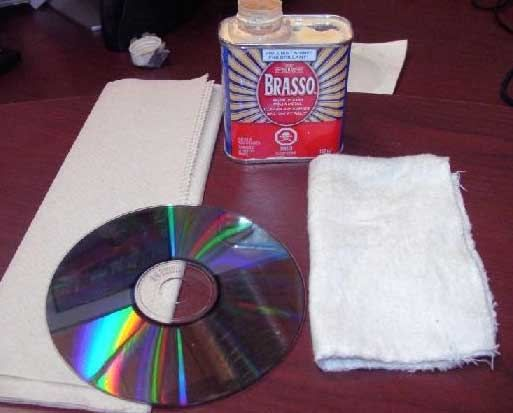Removing scratches from CDs/DVDs. Great explanation as to what is scratched at the end.