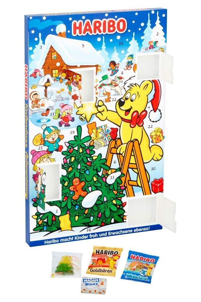 20 Best Advent Calendars Fun Ways To Count Down To Christmas Advent Calenders Haribo Haribo Sweets