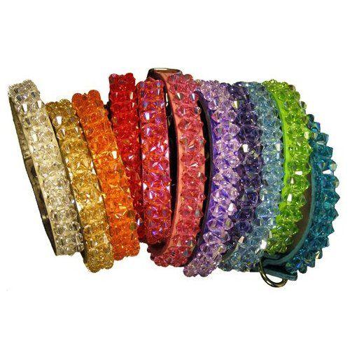 Coco Swarovski Crystal Dog Collar - 11 colors