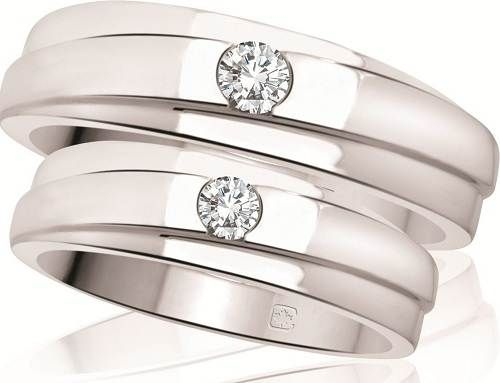 Stunning His and Hers Wedding Bands in Very Touching Concept