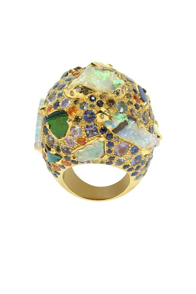 Jewelry Trend: Rough and Smooth (Sylvie Corbelin Paris) [Courtesy Photo]