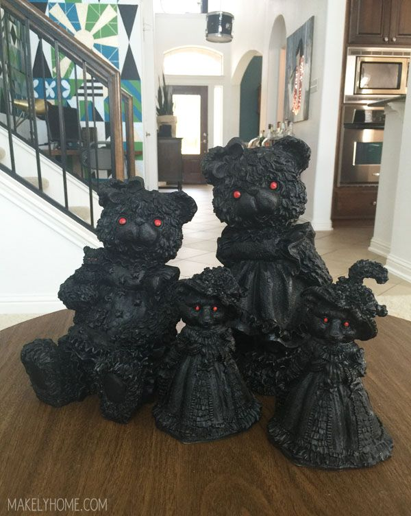 spooky thrift store halloween figurines - Spooky Halloween Store