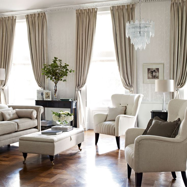 Neutral living room decor neutral living room decor with for Neutral family room ideas