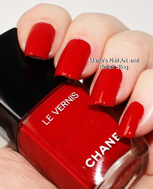 Marias Nail Art And Polish Blog Flushed With Stripes And: 1000+ Images About Chanel Nail Polish Swatches On