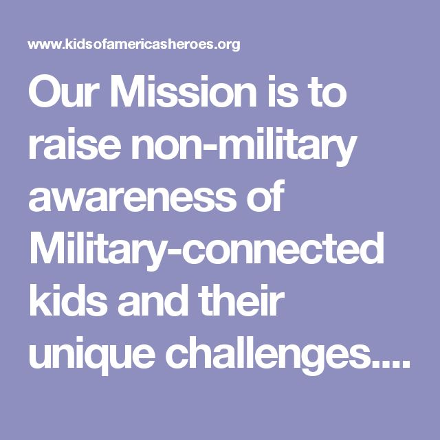 Our Mission is to raise non-military awareness of Military-connected kids and their unique challenges.We raise funds for schools with a large percentage of MilKids that have little to no federal Impact Aid. We provide training to school staff, councilors and community leaders enabling them to cultivateanenvironment for MilKids so they can Thrive, Achieve and Succeed.