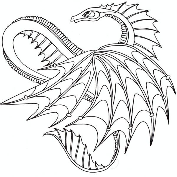 how to train your dragon awesome dragon from how to train your dragon coloring