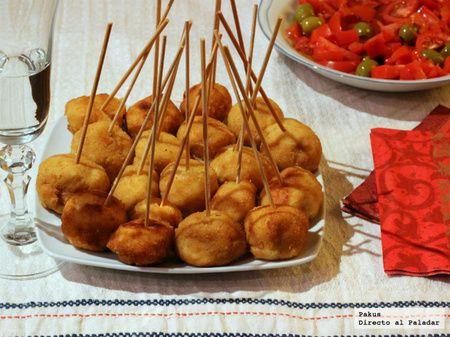 Chupachups de pollo.