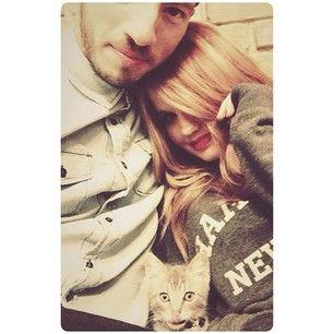 Josh Dun with his girlfriend