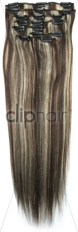 Best 25 hair extensions uk ideas on pinterest blonde hair brownblonde mix 24 inch full head set clip in hair extensions quality real human hair extensions from clip hair ltd pmusecretfo Image collections