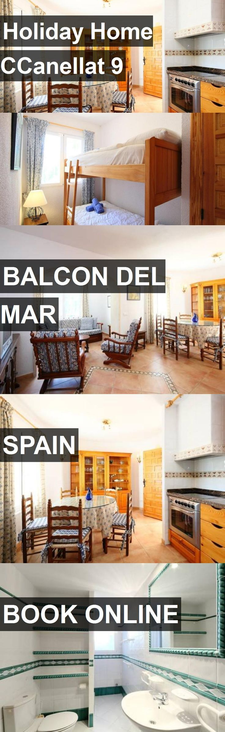 Hotel Holiday Home CCanellat 9 in Balcon del Mar, Spain. For more information, photos, reviews and best prices please follow the link. #Spain #BalcondelMar #travel #vacation #hotel
