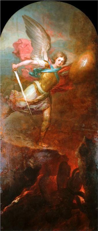 Archangel Michael, 1794Vladimir Borovikovsky