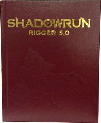Science Fiction 2547: Shadowrun Rpg: Rigger 5.0 Hardcover Limited Edition Psi Cat27007le -> BUY IT NOW ONLY: $55.43 on eBay!