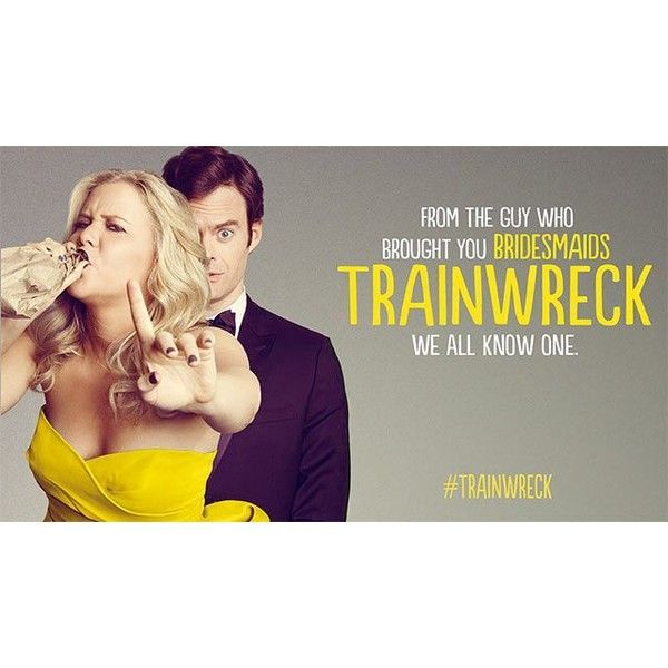TRAINWRECK Trailers, 29 Pictures and Poster ❤ liked on Polyvore featuring home, home decor, wall art, star wall art, star home decor and star picture