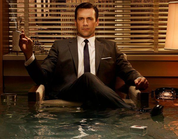 """I can't decide if you have everything … or nothing."" - Don Draper. Mad Men, Season one, Ladies Room"