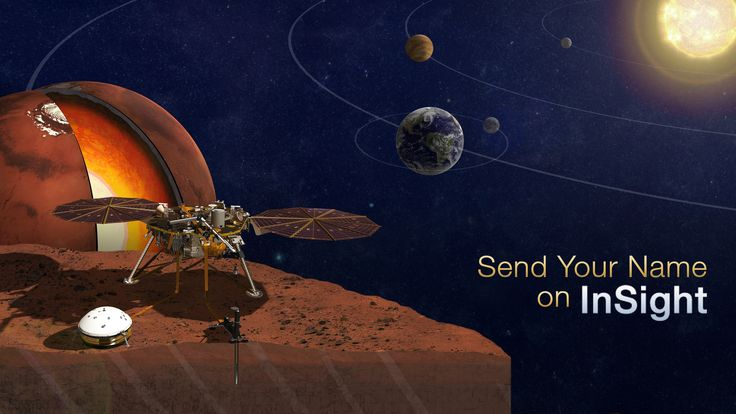 NASA Invites Public to 'Send Your Name to Mars' on InSight – Next Red Planet Lander