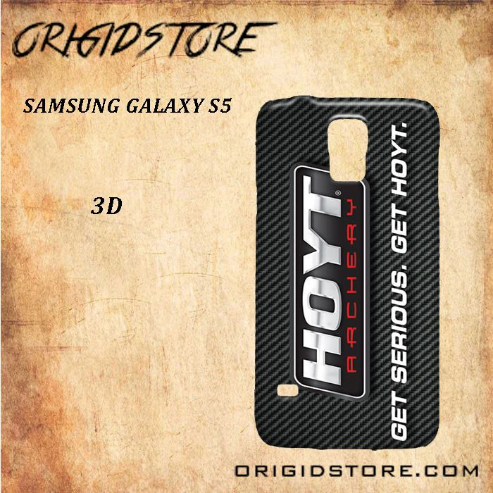 Hoyt Archery, Get Serious Black White Snap On Or 3D For Samsung Galaxy S5