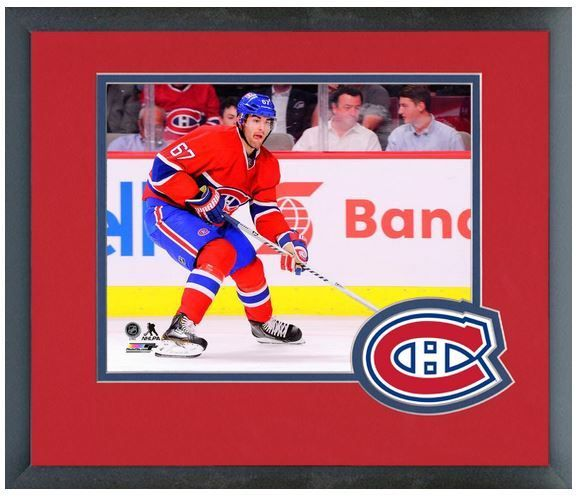 Max Pacioretty 2013-14 Montreal Canadiens 11 x 14 Team Logo Matted/Framed Photo