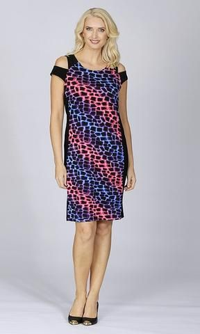 Shoulder Dress - Clothing Click - 4