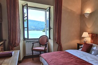 Hotel rooms annecy, luxury hotel suite annecy, hotel view lake annecy, 4 star hotel