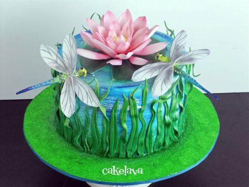 Dragonfly Birthday Cake | dragonfly24_0