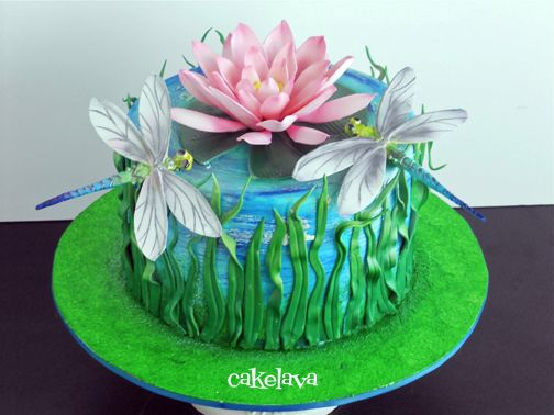 Dragonfly Birthday Cake | dragonfly24_0