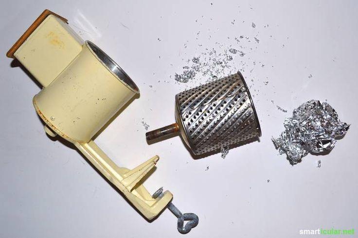 Mit diesem einfachen Trick kannst du viele Küchen- und Haushaltswerkzeuge schnell wieder schärfen!