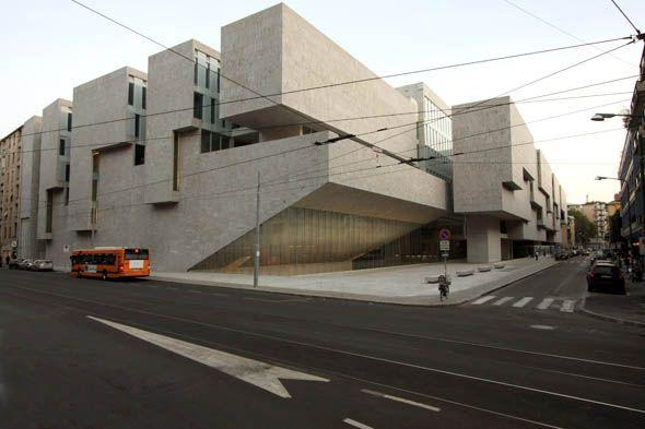 Universita Luigi Bocconi | Milan, Italy | Grafton Architects  +++ repinned by #maground +++