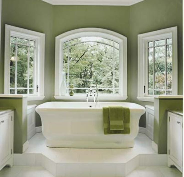 Modified claw foot tub