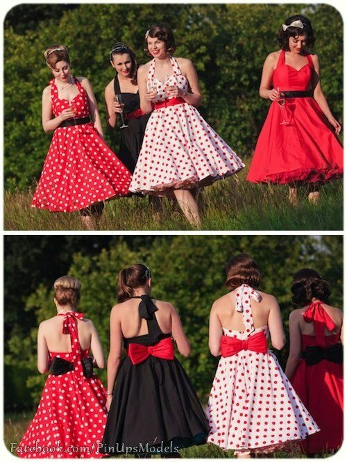 Dress ideas for a pin up/ rockabilly/ retro -50s type party! Love this look. @farrierbritt @patches808
