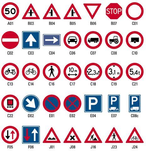 verkeersborden