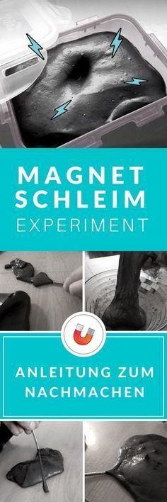 Magnetischer Schleim selber machen OHNE Borax [Anleitung]