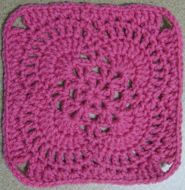 Ravelry: jewlbal3's 365 Day 53 -- Spring Breeze Afghan Square