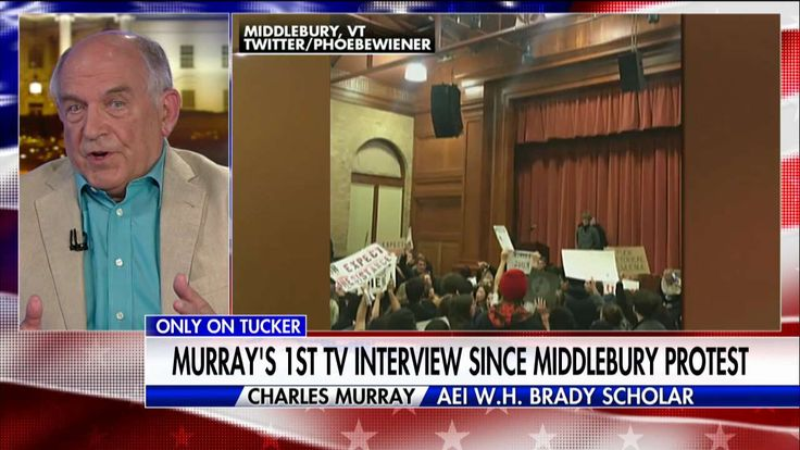 Charles Murray on Student Riots: 'Repudiation of What University is All About'