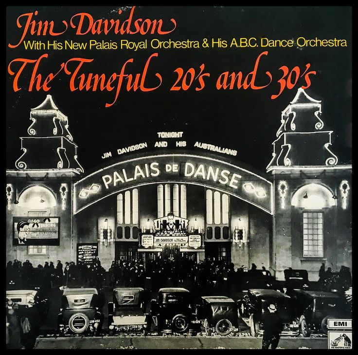 A 70s album of 30s dance band music. Orchestras led by Jim Davidson. (Cover edit)