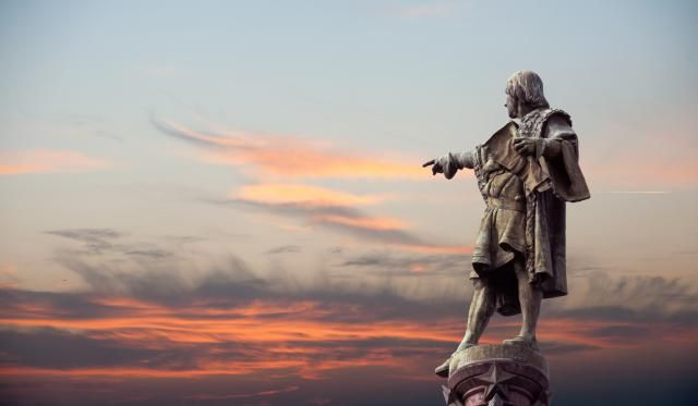 A brief biographical overview of Christopher Columbus, the explorer who discovered North America for Europe.