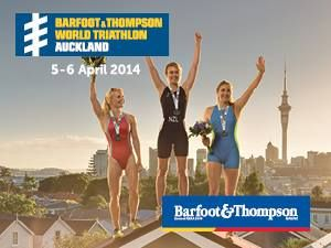 Only 2 more sleeps until the Barfoot & Thompson World Triathlon begins in beautiful Auckland City! #barfootthompson #triathlon