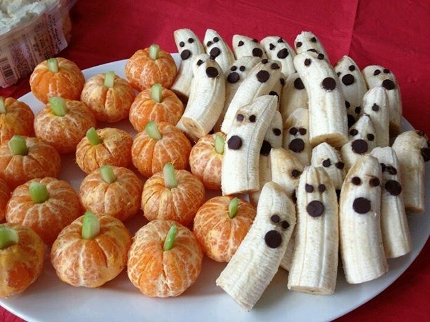 This food fruit idea for halloween healty food ideas for Halloween party food ideas for kids