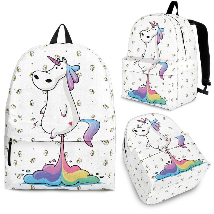Farting Unicorn Backpack